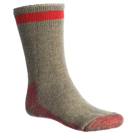 Wigwam Canada Boot Socks - Crew (For Men) in Country Moss - 2nds