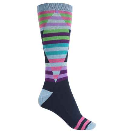 Wigwam Cirque Socks - Crew (For Women) in Navy - Closeouts