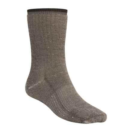 Wigwam Comfort Hiker Socks - Merino Wool, Crew (For Men and Women) in Charcoal - 2nds