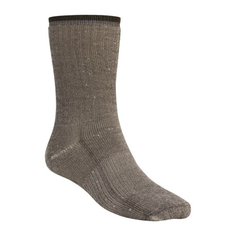 Wigwam Comfort Hiker Socks - Merino Wool, Crew (For Men and Women) in Charcoal