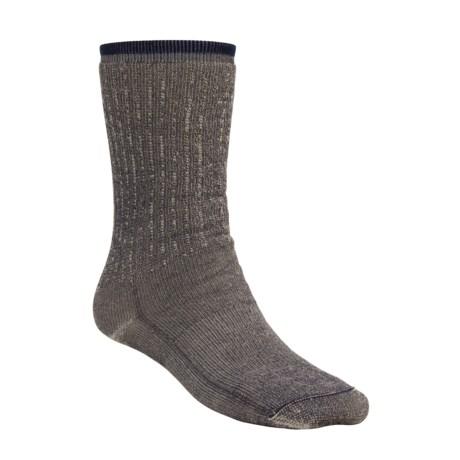 Wigwam Comfort Hiker Socks - Merino Wool, Crew (For Men and Women) in Navy