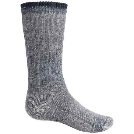 Wigwam Comfort Hiking Socks - Merino Wool, Crew (For Big Kids) in Navy - 2nds