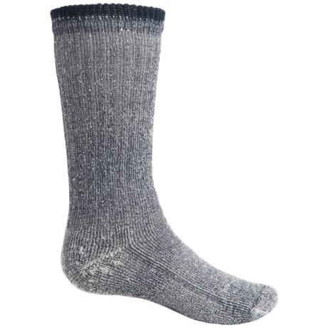 Wigwam Comfort Hiking Socks - Merino Wool, Crew (For Toddlers and Big Kids) in Navy