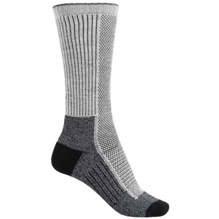 Wigwam Cool-Lite Dri-Release® Pro Hiking Socks - Crew (For Men and Women) in White/Black - 2nds