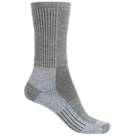 Wigwam Cool-Lite Dri-Release® Pro Hiking Socks - Crew (For Women) in Grey - 2nds