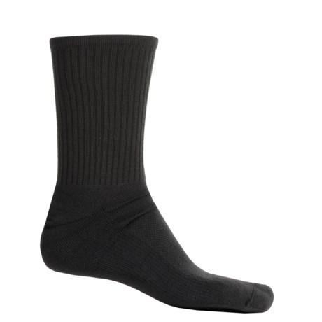 Wigwam Cool-Lite Dri-Release® Pro Sport Socks - Crew (For Men and Women) in Black