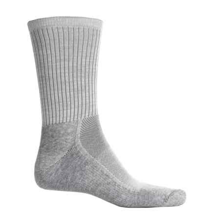 Wigwam Cool-Lite Dri-Release® Pro Sport Socks - Crew (For Men and Women) in Grey - 2nds