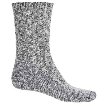 Wigwam Cypress Socks - Crew (For Men and Women) in Black - 2nds