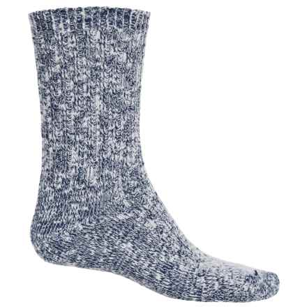 Wigwam Cypress Socks - Crew (For Men and Women) in Navy - 2nds