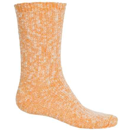 Wigwam Cypress Socks - Crew (For Men and Women) in Oramge - 2nds