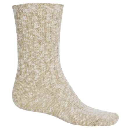 Wigwam Cypress Socks - Crew (For Men and Women) in Sand - 2nds