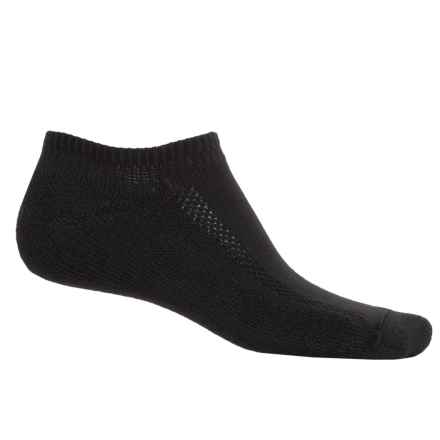 Wigwam Dash Running Socks - Below the Ankle (For Men) in Black - 2nds