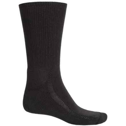 Wigwam Distance Dri-Release® Socks - Crew (For Men and Women) in Black - 2nds