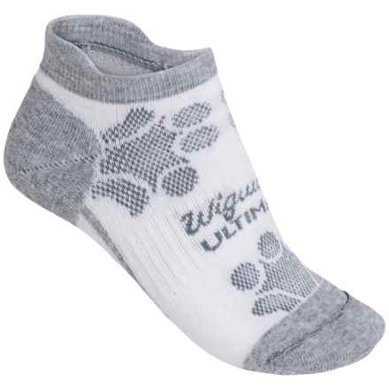 Wigwam Diva Pro Low-Cut Running Socks - Below the Ankle (For Women) in Grey Heather - Closeouts