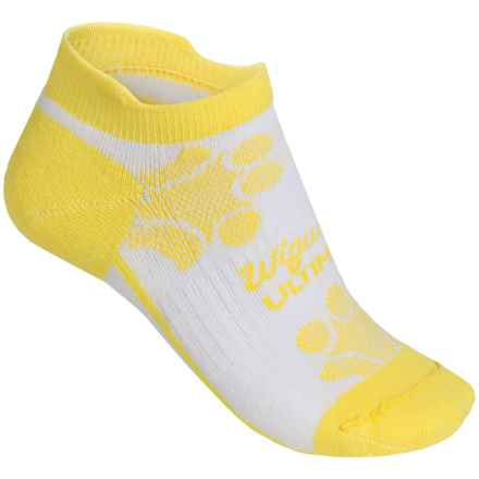 Wigwam Diva Pro Low-Cut Running Socks - Below the Ankle (For Women) in Lmn Yllw - Closeouts