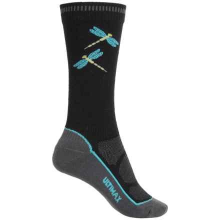 Wigwam Dri-Release® Pro Hiking Socks - Crew (For Women) in Black - 2nds