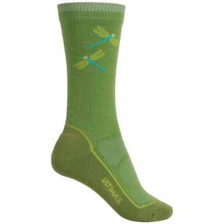 Wigwam Dri-Release® Pro Hiking Socks - Crew (For Women) in Green - 2nds