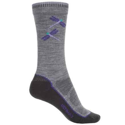 Wigwam Dri-Release® Pro Hiking Socks - Crew (For Women) in Grey - 2nds