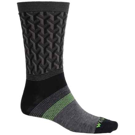 Wigwam Eastside Socks - Merino Wool, Crew (For Men) in Black - Closeouts