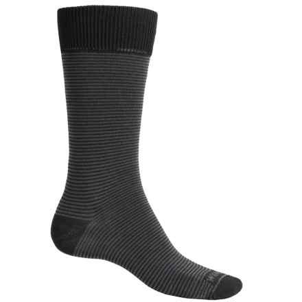 Wigwam Easy Fit II Socks - Crew (For Men) in Black - Closeouts