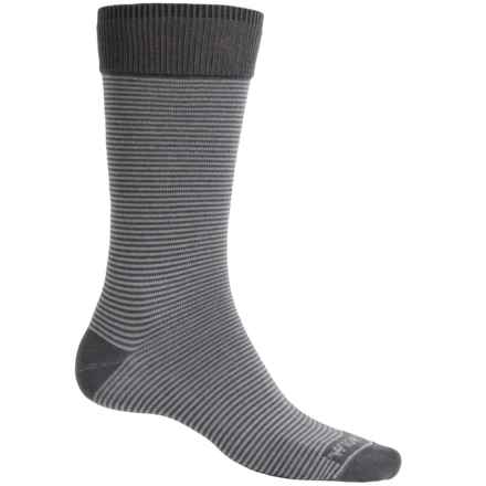 Wigwam Easy Fit II Socks - Crew (For Men) in Charcoal - Closeouts