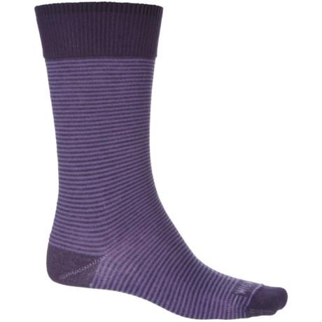 Wigwam Easy Fit II Socks - Crew (For Men) in Purple Velvet