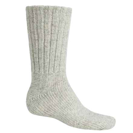 Wigwam Expedition Hiking Socks - Crew (For Men) in Grey Twist - Closeouts