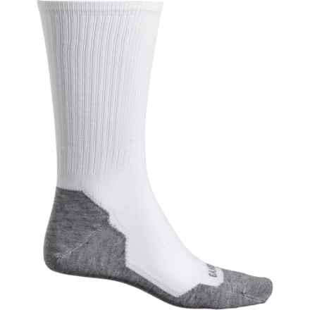 Wigwam Gander Mountain Liner Socks - Crew (For Men) in White/Grey - 2nds