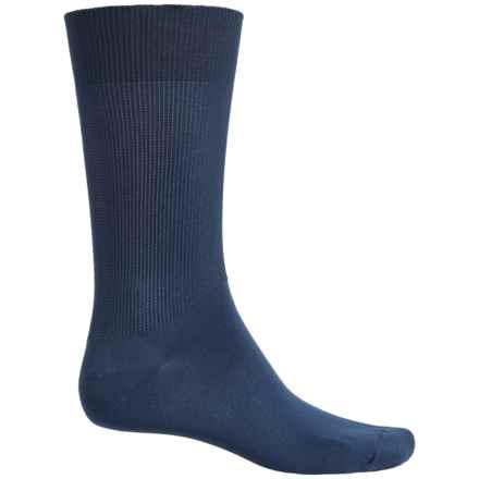 Wigwam Gobi Liner Socks - Crew (For Men) in 586 Navy - 2nds
