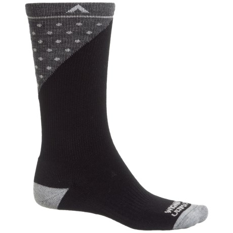 Wigwam Grays Peak Pro Socks - Merino Wool, Crew (For Men and Women) in Black