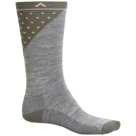 Wigwam Grays Peak Pro Socks - Merino Wool, Crew (For Men and Women) in Grey