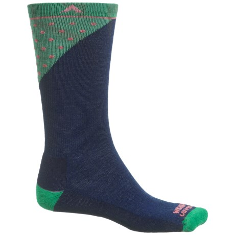 Wigwam Grays Peak Pro Socks - Merino Wool, Crew (For Men and Women)