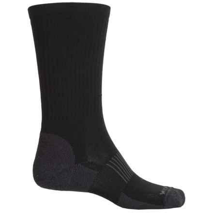 Wigwam High-Performance Hike Socks - Crew (For Men) in Black - 2nds