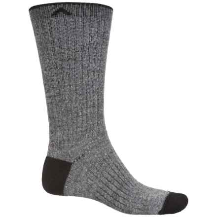 Wigwam Hiker Essential Socks - Crew (For Men and Women) in Charcoal - 2nds