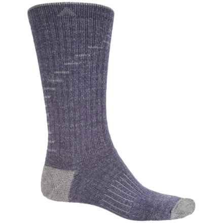 Wigwam Hiker Essential Socks - Crew (For Men and Women) in Purple - 2nds