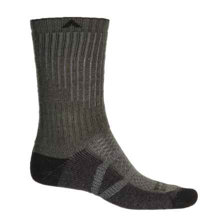 Wigwam Hiker Pro Socks - Crew (For Men and Women) in Charcoal - 2nds