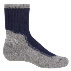 Wigwam Hiking-Outdoor Pro Socks - Crew (For Big Kids) in Navy/Pewter