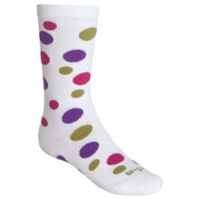 Wigwam Hopscotch Socks - Crew (For Little and Big Kids) in White - Closeouts