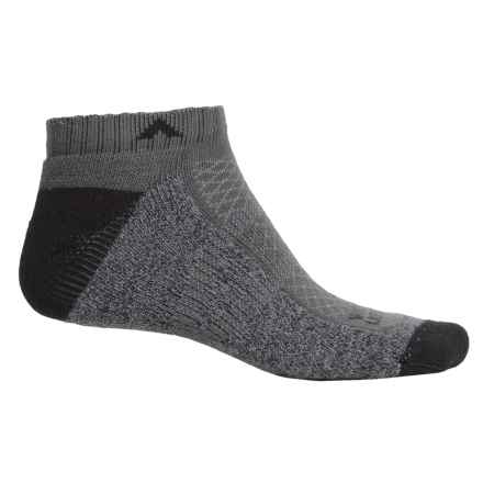 Wigwam I-CL2 Hike Pro Low Socks - Below the Ankle (For Men and Women) in Charcoal - 2nds