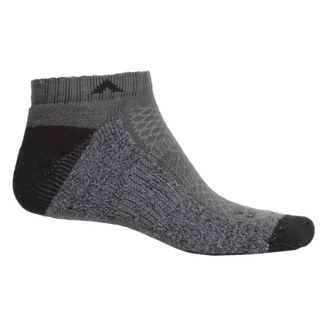 Wigwam I-CL2 Hike Pro Low Socks - Below the Ankle (For Men and Women) in Charcoal