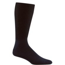 Wigwam I-Diabetic Walker Socks - Crew (For Men and Women) in Black - 2nds