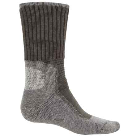 Wigwam I-Hiking Outdoor Pro Socks - Crew (For Men and Women) in Charcoal - 2nds