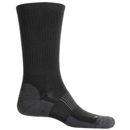 Wigwam I-Performance Hike Socks - Merino Wool, Crew (For Men) in Black - 2nds