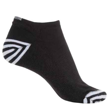 Wigwam Inspire Running Socks - Below the Ankle (For Women) in Black/White - 2nds