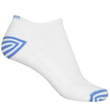 Wigwam Inspire Running Socks - Below the Ankle (For Women) in White/Blue - 2nds
