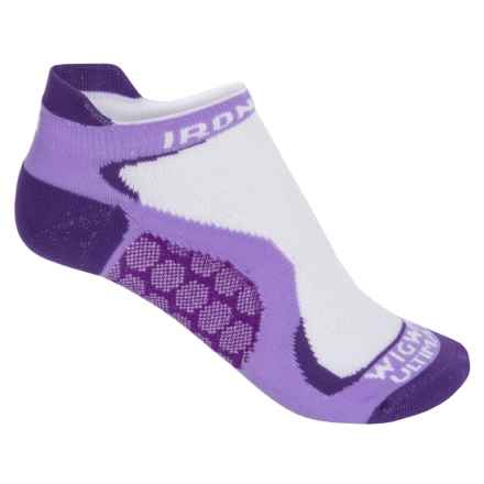 Wigwam Ironman Running Socks - Below the Ankle (For Women) in Ultra Violet - 2nds