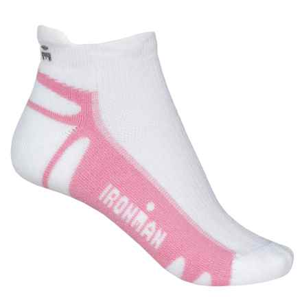 Wigwam IRONMAN® Thunder Pro Running Socks - Below the Ankle (For Women) in Pink - Closeouts