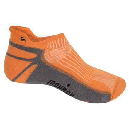 Wigwam Ironman Thunder Pro Socks - Below the Ankle (For Men) in Orange/Grey - 2nds