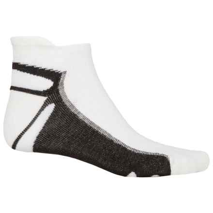 Wigwam IRONMAN® Thunder Pro Socks - Below the Ankle (For Men) in White/Black - 2nds
