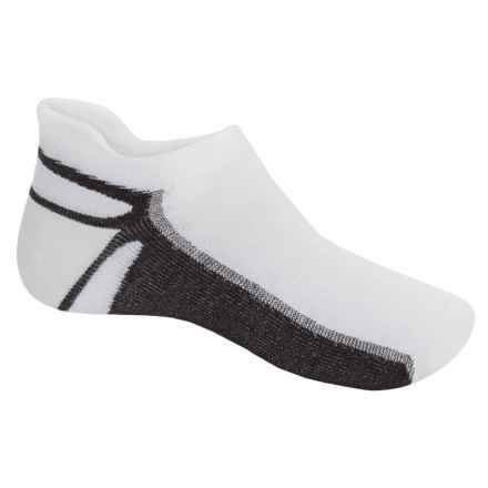 Wigwam IRONMAN® Thunder Pro Socks - Below the Ankle (For Men) in White/Dark Brown - 2nds